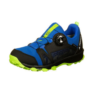 Terrex Agravic Boa Trail Laufschuh Kinder, blau / korall, zoom bei OUTFITTER Online