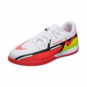 Phantom GT2 Academy Indoor Fußballschuh Kinder, weiß / rot, zoom bei OUTFITTER Online