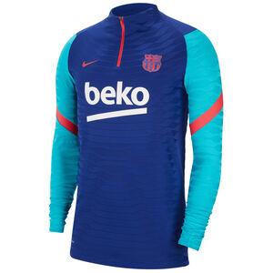 FC Barcelona VaporKnit Strike Longsleeve Herren, dunkelblau / neonrot, zoom bei OUTFITTER Online