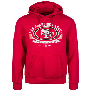 NFL San Francisco 49ers Graphic Kapuzenpullover Herren, Rot, zoom bei OUTFITTER Online