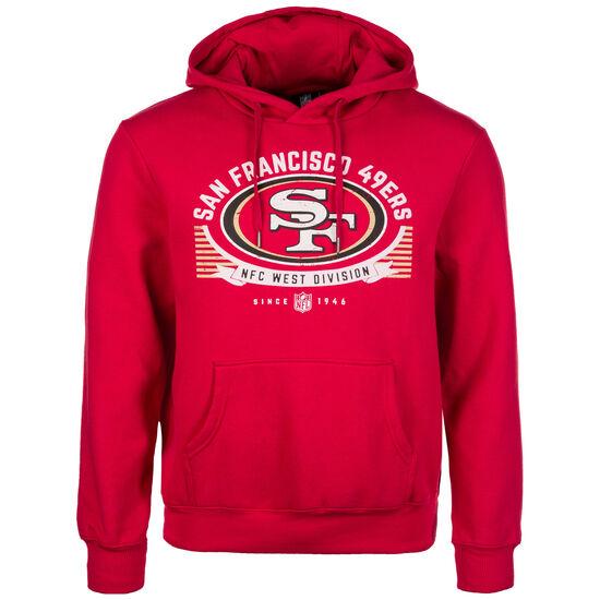 NFL San Francisco 49ers Graphic Kapuzenpullover Herren, Rot, zoom bei OUTFITTER Online