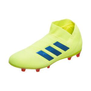 Nemeziz 18+ 360Agility FG Fußballschuh Kinder, neongelb / blau, zoom bei OUTFITTER Online