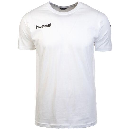 Logo Cotton T-Shirt Herren, weiß, zoom bei OUTFITTER Online