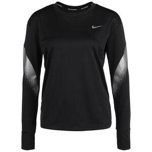 Runaway Lauftop Damen, schwarz / silber, zoom bei OUTFITTER Online