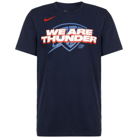 NBA Oklahoma City Thunder Dry Mantra T-Shirt Herren, dunkelblau / rot, zoom bei OUTFITTER Online