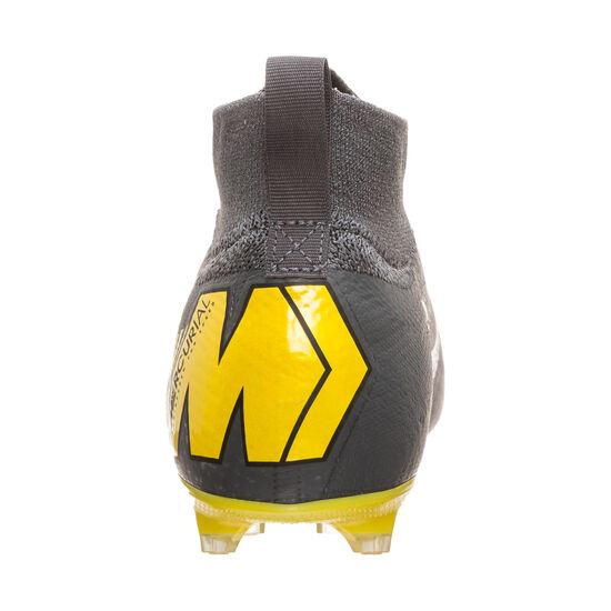 Mercurial Superfly VI Elite FG Fußballschuh Kinder, dunkelgrau / gelb, zoom bei OUTFITTER Online