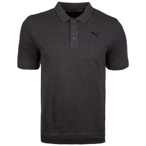 Essential Piqué Poloshirt Herren, dunkelgrau, zoom bei OUTFITTER Online