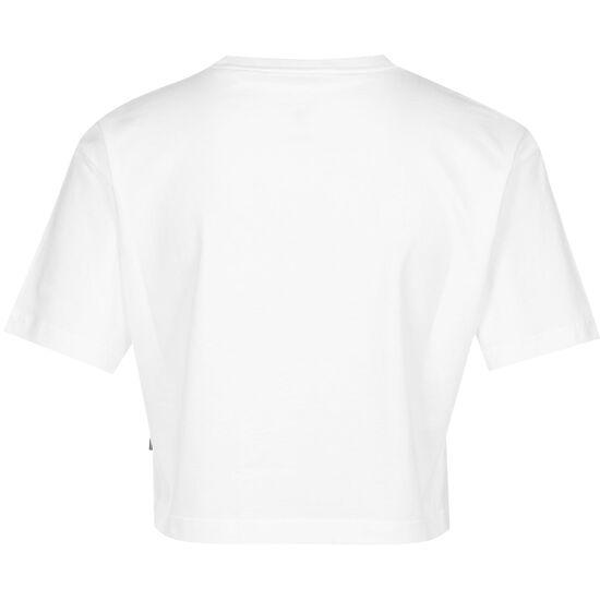 Left Chest Heart Cropped T-Shirt Damen, weiß, zoom bei OUTFITTER Online