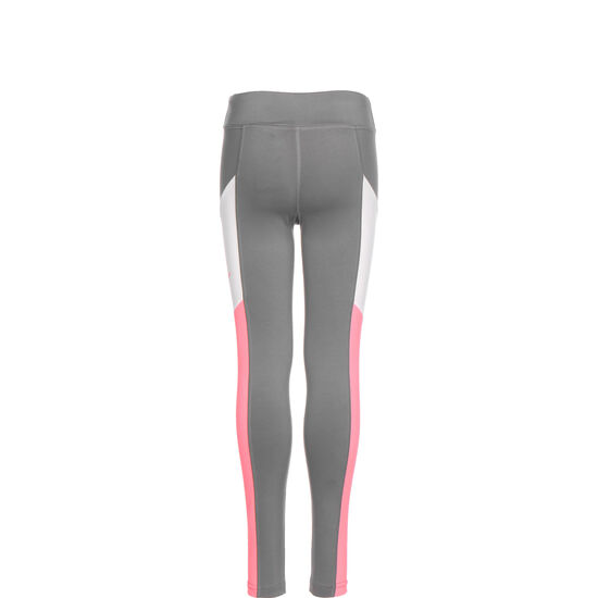 Trophy Trainingstight Kinder, grau / pink, zoom bei OUTFITTER Online
