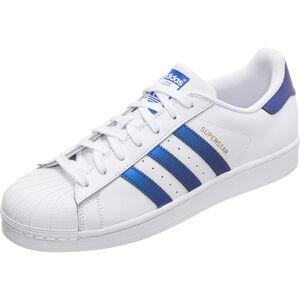Superstar Sneaker, weiß / blau, zoom bei OUTFITTER Online