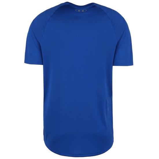 HeatGear Tech 2.0 Trainingsshirt Herren, blau, zoom bei OUTFITTER Online
