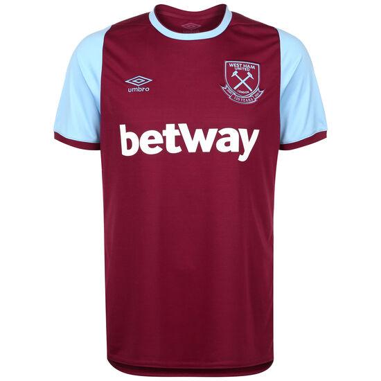 West Ham United Trikot Home 2019/2020 Herren, bordeaux / hellblau, zoom bei OUTFITTER Online