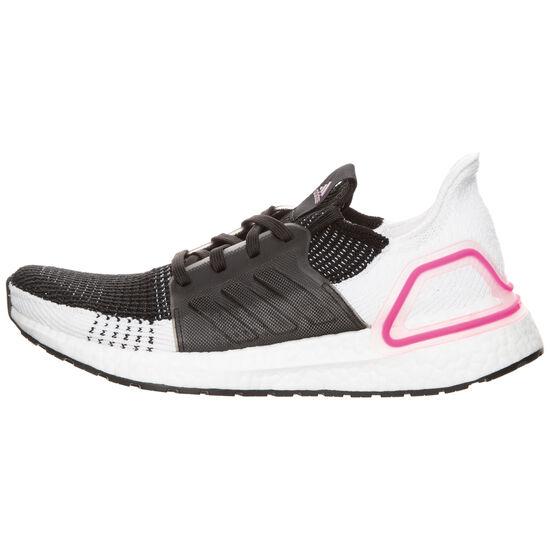 UltraBOOST 19 Laufschuh Damen, schwarz / weiß, zoom bei OUTFITTER Online