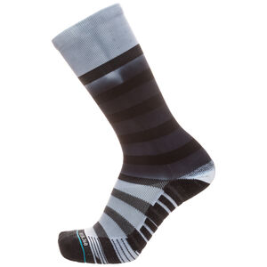 Athletic Fusion Intercept Crew Socken, Schwarz, zoom bei OUTFITTER Online