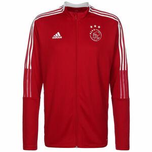 Ajax Amsterdam Trainingsjacke Herren, rot / weiß, zoom bei OUTFITTER Online