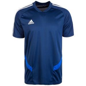 Tiro 19 Trainingsshirt Herren, dunkelblau / weiß, zoom bei OUTFITTER Online