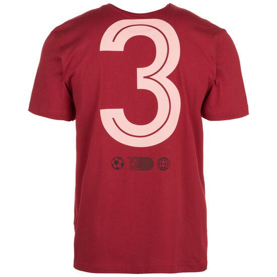 Sport ID Jersey Trainingsshirt Herren, rot / weiß, zoom bei OUTFITTER Online