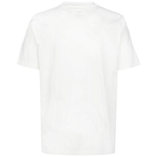 Hyperreal Circled Slogan T-Shirt Herren, weiß / schwarz, zoom bei OUTFITTER Online