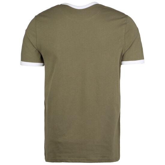 Ringer T-Shirt Herren, oliv / weiß, zoom bei OUTFITTER Online