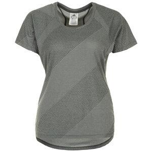 Jacquard Trainingsshirt Damen, graugrün, zoom bei OUTFITTER Online