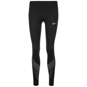 Power Flash Lauftight Damen, Schwarz, zoom bei OUTFITTER Online
