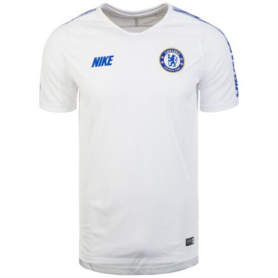 FC Chelsea Breathe Squad Trainingsshirt Herren, weiß / blau, zoom bei OUTFITTER Online