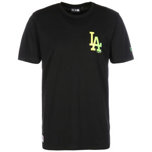 MLB Los Angeles Dodgers Neon T-Shirt, schwarz, zoom bei OUTFITTER Online