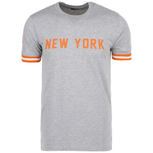 NBA Wordmark New York Knicks T-Shirt Herren, grau / orange, zoom bei OUTFITTER Online