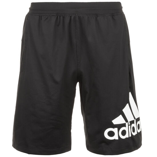 4KRFT Sport of Badge Trainingsshort Herren, schwarz, zoom bei OUTFITTER Online
