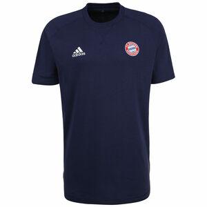 FC Bayern München Travel T-Shirt Herren, dunkelblau / rot, zoom bei OUTFITTER Online