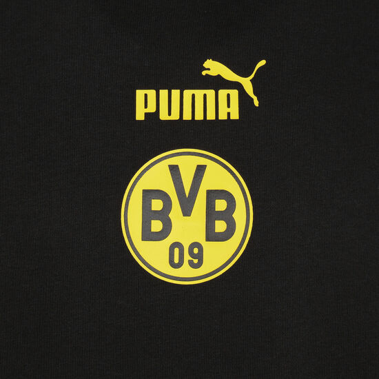 Borussia Dortmund FtblCulture Kapuzenpullover Herren, schwarz / gelb, zoom bei OUTFITTER Online