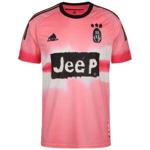 Juventus Turin Human Race FC Trikot Herren, rosa / schwarz, zoom bei OUTFITTER Online