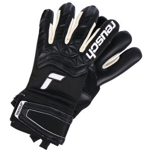 Attrakt Freegel Infinity Finger Support Torwarthandschuh, schwarz / weiß, zoom bei OUTFITTER Online