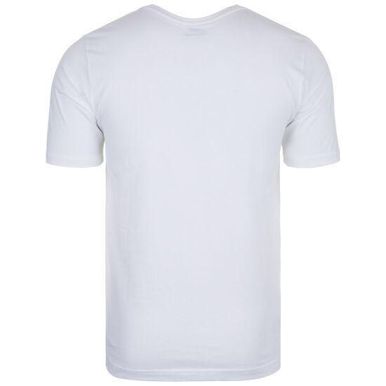 Essentials Stacked Logo T-Shirt Herren, weiß / schwarz, zoom bei OUTFITTER Online