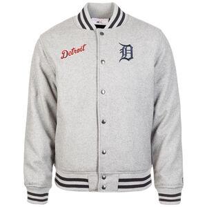 MLB Team App Detroit Tigers Bomber Jacke Herren, hellgrau, zoom bei OUTFITTER Online