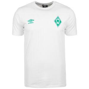 SV Werder Bremen Crew T-Shirt Herren, weiß, zoom bei OUTFITTER Online