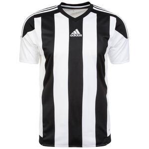 Striped 15 Fußballtrikot Herren, weiß / schwarz, zoom bei OUTFITTER Online