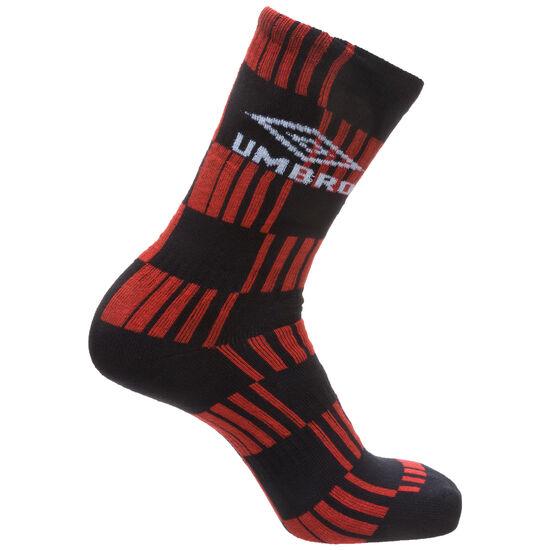 Flatliner Socken, rot / schwarz, zoom bei OUTFITTER Online