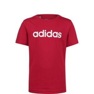 Essentials Linear T-Shirt Kinder, rot / weiß, zoom bei OUTFITTER Online