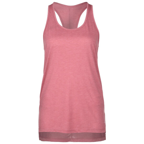 Yoga Layer Trainingstop Damen, rosa / pink, zoom bei OUTFITTER Online