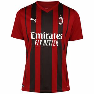 AC Mailand Trikot Home 2021/2022 Herren, rot / schwarz, zoom bei OUTFITTER Online