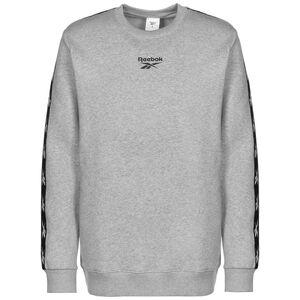 Training Essentials Tape Crew Sweatshirt Herren, grau / schwarz, zoom bei OUTFITTER Online