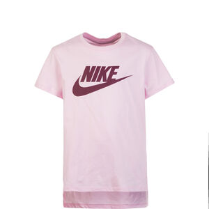 Basic Futura T-Shirt Kinder, rosa / bordeaux, zoom bei OUTFITTER Online
