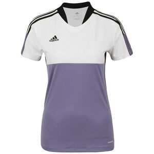 Tiro Fußballtrikot Damen, weiß / violett, zoom bei OUTFITTER Online