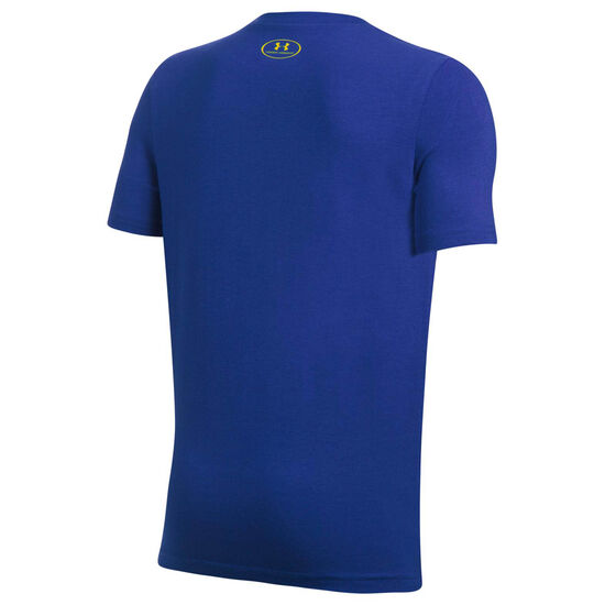 SC30 T-Shirt Kinder, blau / gelb, zoom bei OUTFITTER Online