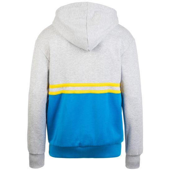 Block Color Kapuzenpullover Herren, grau / blau, zoom bei OUTFITTER Online
