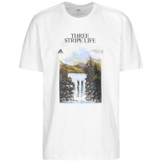 Mountain T-Shirt Herren, weiß / bunt, zoom bei OUTFITTER Online
