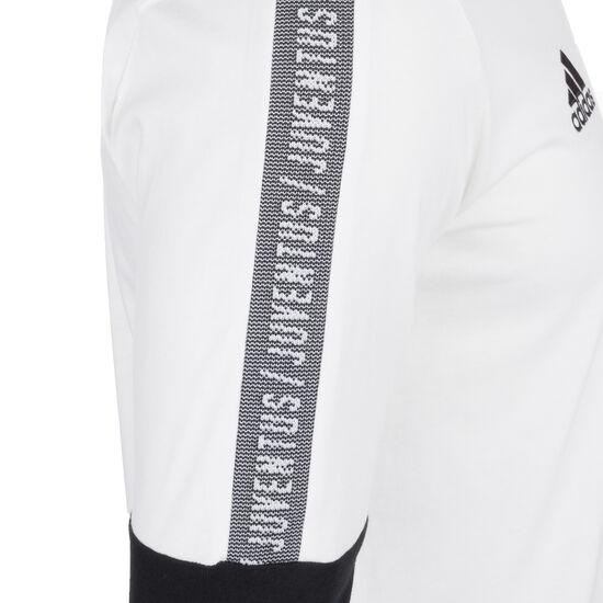 Juventus Turin Sweatshirt Herren, weiß / schwarz, zoom bei OUTFITTER Online