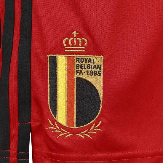 RBFA Belgien Short Home EM 2020 Herren, rot / schwarz, zoom bei OUTFITTER Online