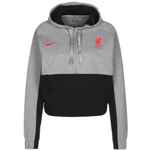 FC Liverpool Cropped Kapuzenpullover Damen, grau / schwarz, zoom bei OUTFITTER Online